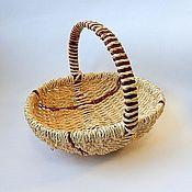Корзина плетеная (два размера)