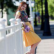 """Одежда ручной работы. Ярмарка Мастеров - ручная работа Платье летнее, платье короткое цветочное """"Незнакомка"""". Handmade."""