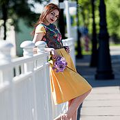 Одежда handmade. Livemaster - original item Dress summer dress short floral