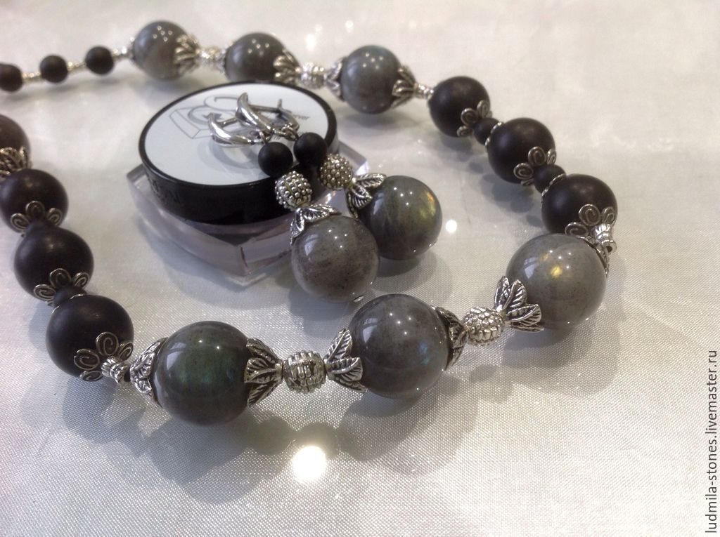 Set of labradorite 'the Dawn mist', Jewelry Sets, Moscow,  Фото №1