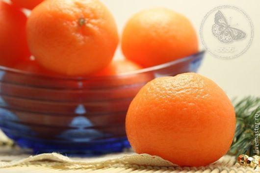 """Мыло ручной работы. Ярмарка Мастеров - ручная работа. Купить """"НОВОГОДНИЙ МАНДАРИН"""" мыло ручной работы. Handmade. Оранжевый"""