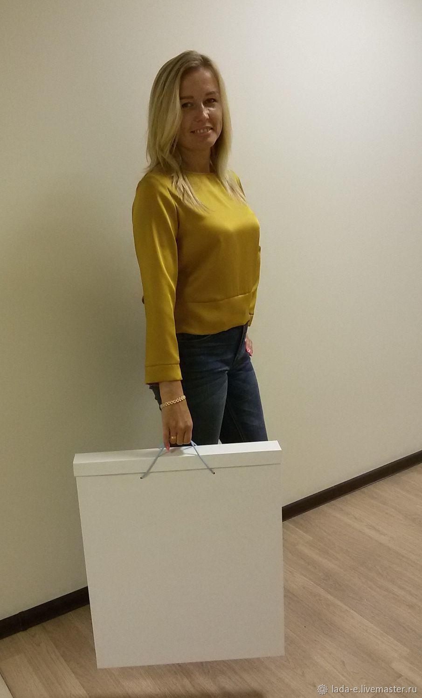 Коробка для картины с ручками №1, Подарочная упаковка, Москва,  Фото №1
