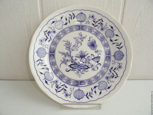 Винтажная посуда. Ярмарка Мастеров - ручная работа. Купить НОВАЯ ЦЕНА! Блюдо большое, тарелка, Англия. Handmade. Комбинированный, фаянс