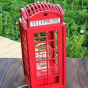 Светильник Лондонская Телефонная Будка