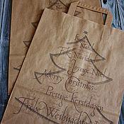 Материалы для творчества handmade. Livemaster - original item Kraft Christmas pack. Handmade.