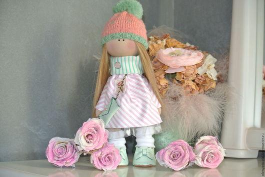 Куклы тыквоголовки ручной работы. Ярмарка Мастеров - ручная работа. Купить Интерьерная кукла. Handmade. Комбинированный, большеногая кукла