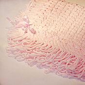 """Для дома и интерьера ручной работы. Ярмарка Мастеров - ручная работа Детский плед - одеяло """"Розовый зефир"""". Handmade."""