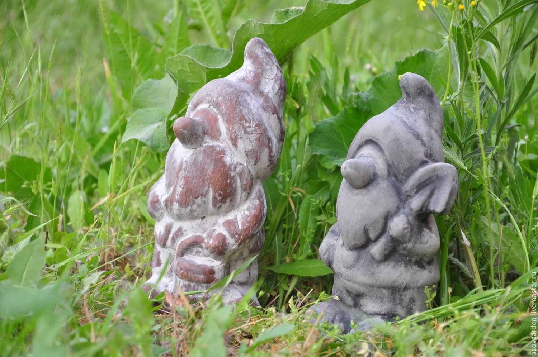 Скульптура для сада из бетона своими руками фото