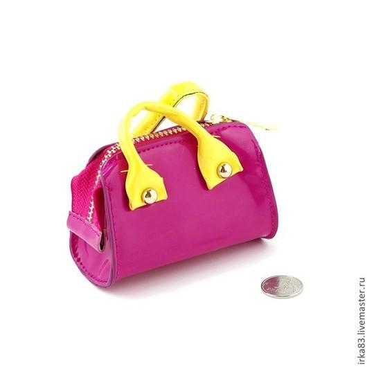 Куклы и игрушки ручной работы. Ярмарка Мастеров - ручная работа. Купить Сумочка для куклы -  2. Handmade. Разноцветный, сумочка, сумка