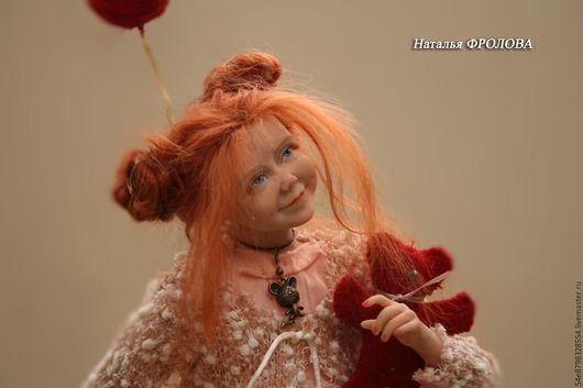 """Коллекционные куклы ручной работы. Ярмарка Мастеров - ручная работа. Купить """"все те же лица"""". Handmade. Ливинг Долл, мохер"""
