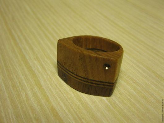 Кольца ручной работы. Ярмарка Мастеров - ручная работа. Купить Деревянное кольцо. Handmade. Кольцо ручной работы, эксклюзив, дуб