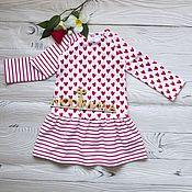 Dresses handmade. Livemaster - original item The Dress `Heart`. Handmade.