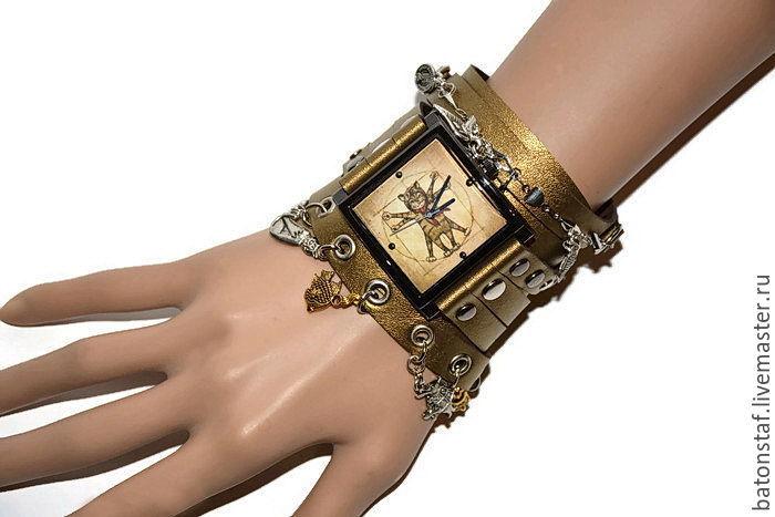 f8e7c558bbd3 Необычные наручные часы Стимпанк -