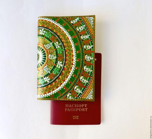 Обложка для паспорта сшита из искусственной кожи высокого качества(полная имитация натуральной кожи) - это очень важно для тех кто по этическим соображениям не пользуется изделиями из натуральной кожи