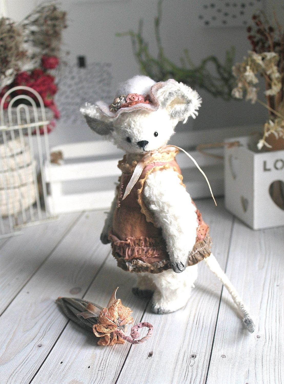 Мышка тедди Тина, Мишки Тедди, Грязи,  Фото №1