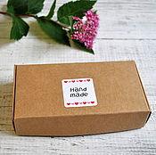 Материалы для творчества ручной работы. Ярмарка Мастеров - ручная работа Коробка крафт 11х6х2см, 3792. Handmade.