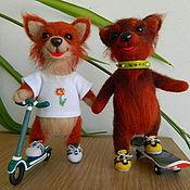 Подарки к праздникам ручной работы. Ярмарка Мастеров - ручная работа Спортивные собачки. Handmade.