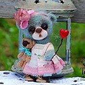 Куклы и игрушки handmade. Livemaster - original item Mint bear tiny. Handmade.