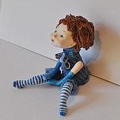 """Куклы и игрушки ручной работы. Ярмарка Мастеров - ручная работа Авторская кукла  Мечталка """"Небесная"""". Handmade."""
