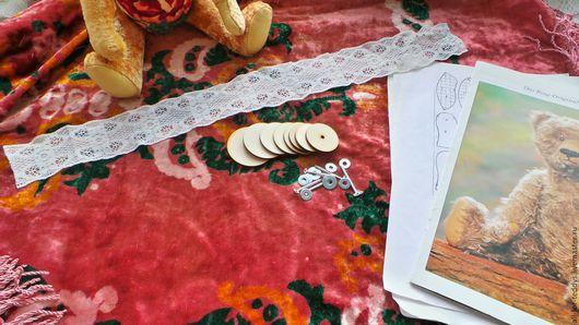 Куклы и игрушки ручной работы. Ярмарка Мастеров - ручная работа. Купить Наборы для шитья мишек Тедди, 30 или 40 см, с винтажным плюшем. Handmade.