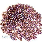 Материалы для творчества handmade. Livemaster - original item 10 grams of 10/0 seed Beads, Czech Preciosa 27069 Premium interior silvering. Handmade.
