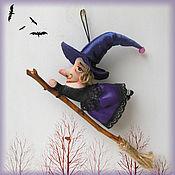 Куклы и игрушки handmade. Livemaster - original item Miniature toys: Little witch. Handmade.