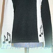 """Одежда ручной работы. Ярмарка Мастеров - ручная работа Джемпер """"Мелодия"""". Handmade."""