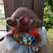 Куклы и игрушки ручной работы. Ярмарка Мастеров - ручная работа Мишутка Глафира. Handmade.