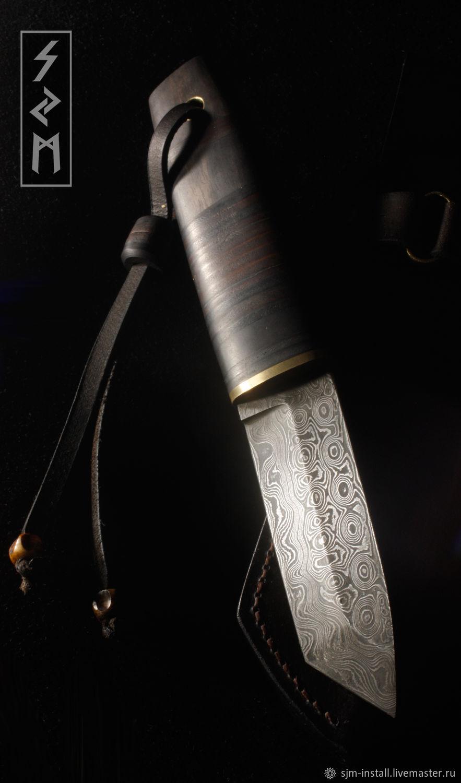 """Подарки для мужчин, ручной работы. Ярмарка Мастеров - ручная работа. Купить Нож авторский ручной работы """"Наборный"""". Handmade. Нож"""