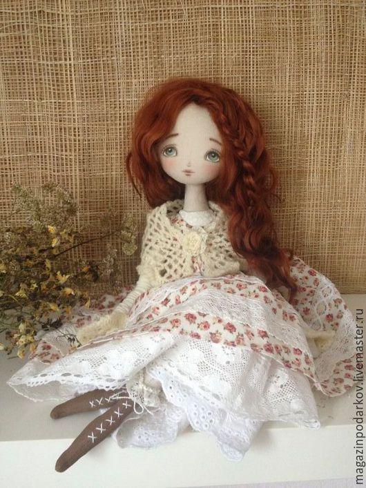 Коллекционные куклы ручной работы. Ярмарка Мастеров - ручная работа. Купить Кукла Тростинка Надия. Handmade. Рыжий, авторская кукла