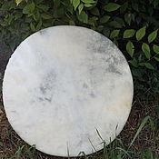 Музыкальные инструменты handmade. Livemaster - original item Tambourine shaman leather without a pattern. 45 cm. Handmade.