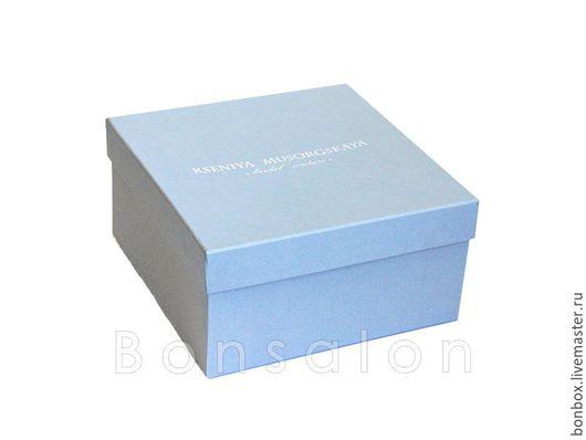 Упаковка ручной работы. Ярмарка Мастеров - ручная работа. Купить Коробка из плотного картона 20х20х10 см.. Handmade. Коробка, упаковка