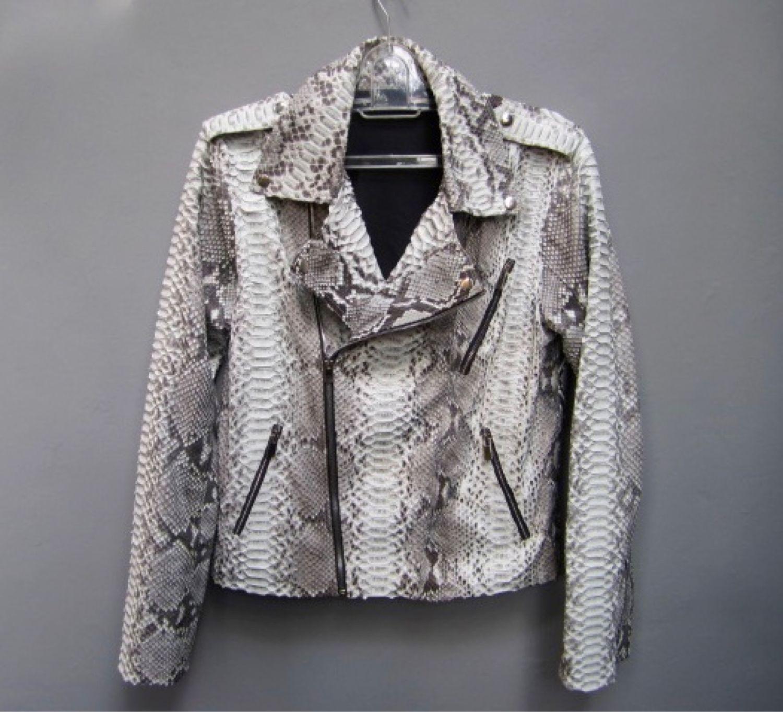 Куртка из кожи питона унисекс размер XS- XXL, Куртки, Санкт-Петербург,  Фото №1