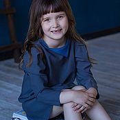 Одежда ручной работы. Ярмарка Мастеров - ручная работа Дизайнерские платья LIKE MOM`s в стиле familylook. Handmade.