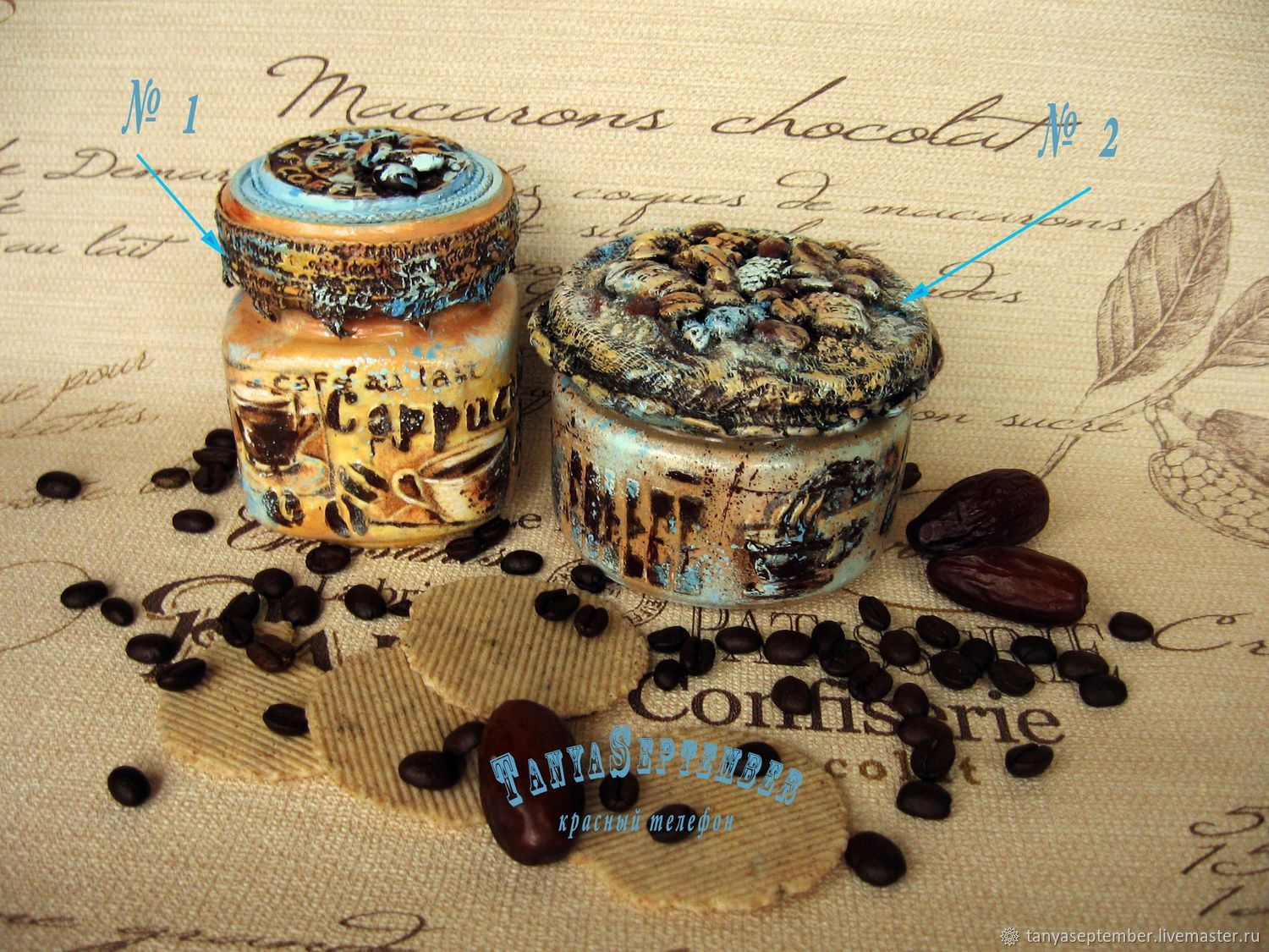 Banks for kitchen of coffee different: COFFEE and TURQUOISE, ESPRESSO, COFFEE, LATTE, Jars, Moscow,  Фото №1