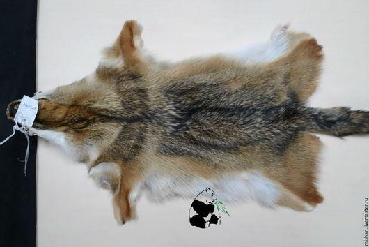 Шитье ручной работы. Ярмарка Мастеров - ручная работа. Купить Мех койота. Шкурки выделанные.. Handmade. Серый, мужской, мех