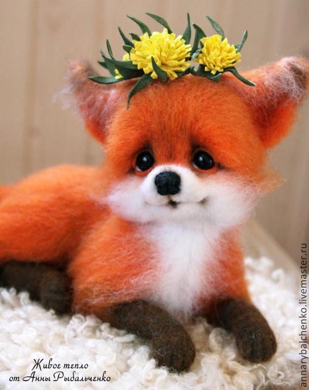 Лисичка Аглашенька, Игрушки животные, Краснодар, Фото №1