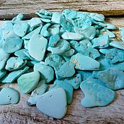 Материалы для творчества handmade. Livemaster - original item Turquoise blue (chalk )Uzbekistan (Uchkuduk ). Handmade.