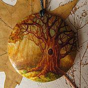 Украшения ручной работы. Ярмарка Мастеров - ручная работа кулон Лесной старейшина. Handmade.