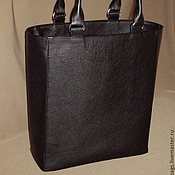 Сумки и аксессуары handmade. Livemaster - original item Bag-package. black .genuine leather.. Handmade.