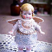 Куклы и игрушки ручной работы. Ярмарка Мастеров - ручная работа Куколка из антикварных деталей Нюша. Handmade.