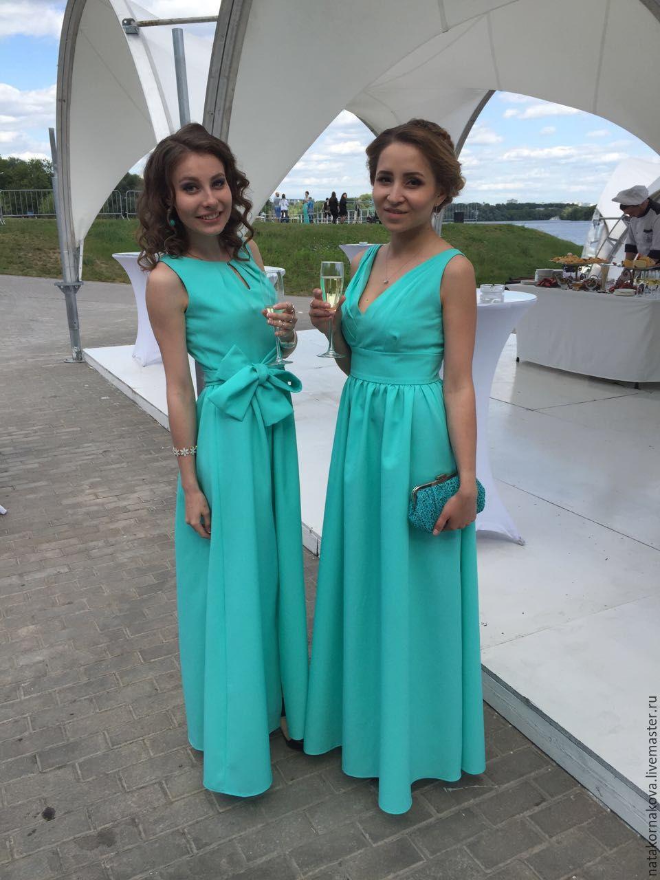 ae7edc32a70 Платья ручной работы. Ярмарка Мастеров - ручная работа. Купить Платье  подружки невесты-4 ...