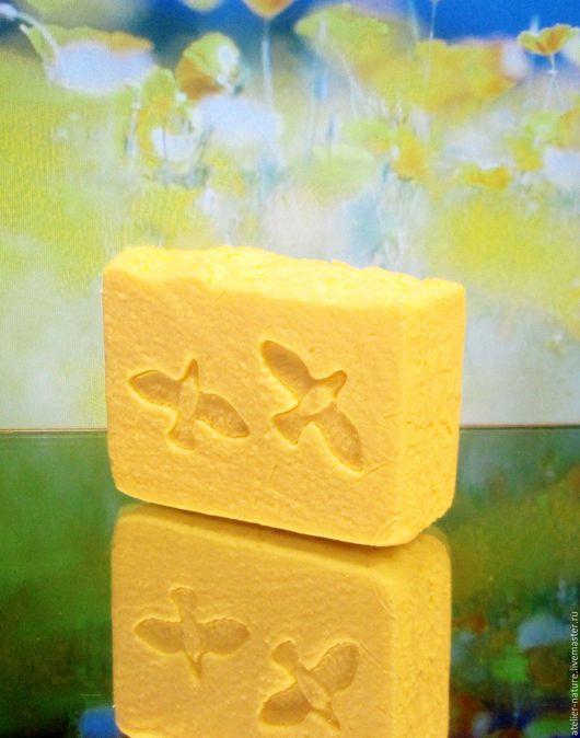 «Sole mio» соляное мыло, натуральное, с облепиховым маслом