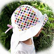 """Работы для детей, ручной работы. Ярмарка Мастеров - ручная работа Панама для девочки """"САФАРИ"""". Handmade."""