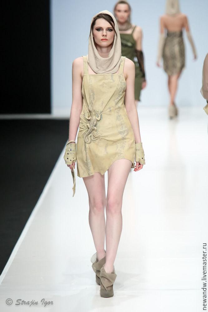 Платье ящерица