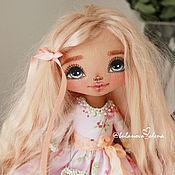 Куклы и игрушки ручной работы. Ярмарка Мастеров - ручная работа Персиковая девочка. Handmade.