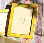 Сувениры и подарки ручной работы. Ярмарка Мастеров - ручная работа Рамки для фото. Набор из 2 шт.. Handmade.