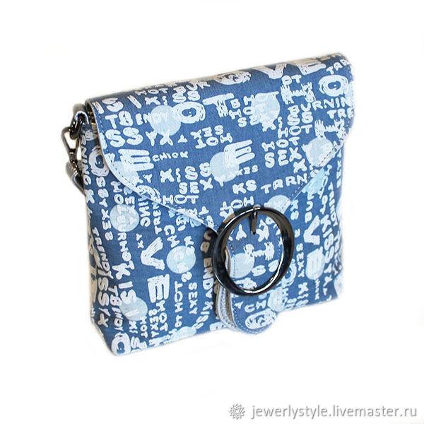 29d16e4f6d87 Женские сумки ручной работы. Ярмарка Мастеров - ручная работа. Купить Сумка  джинсовая повседневная, ...