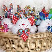 Куклы и игрушки ручной работы. Ярмарка Мастеров - ручная работа Сердечный зайка. Handmade.