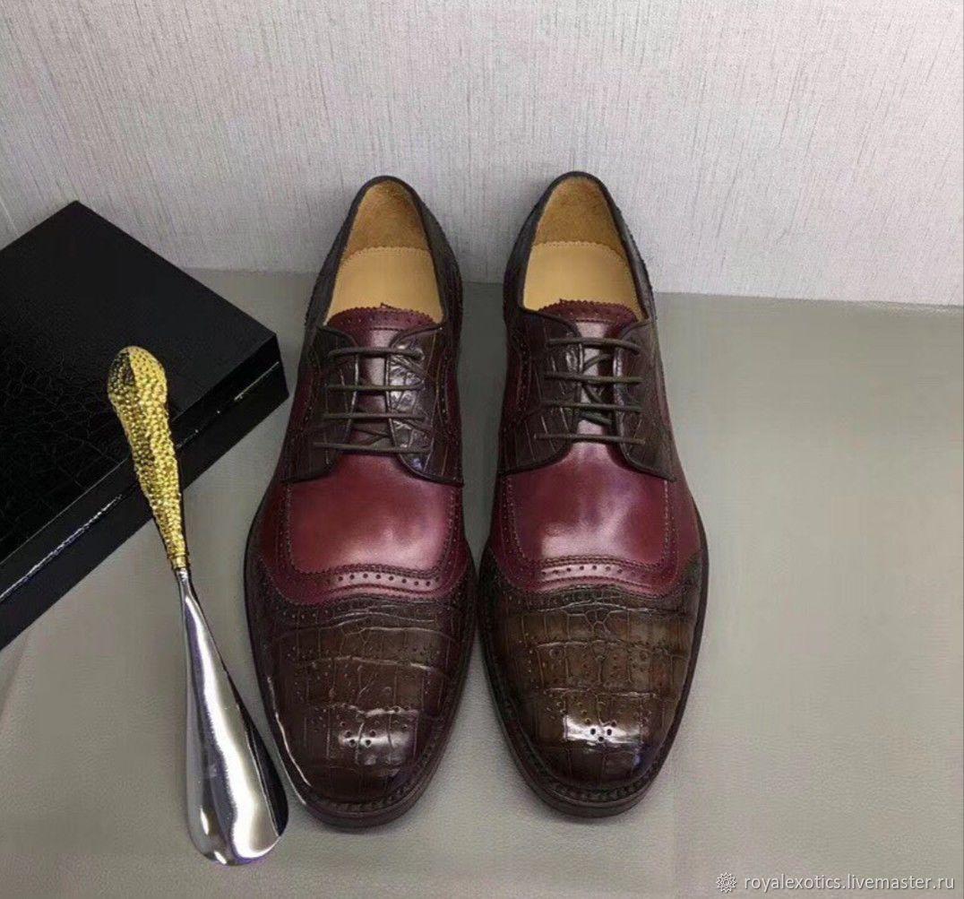 1cbf32f2d57e Обувь ручной работы. Ярмарка Мастеров - ручная работа. Купить Туфли  мужские, из кожи ...